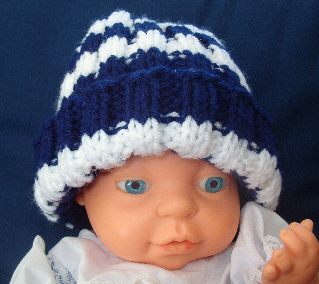Close up of a Baby Hat